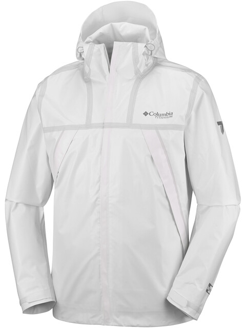 Columbia OutDry Ex ECO Tech Shell Jacket Men white undyed